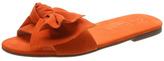 Schutz Orange Flats