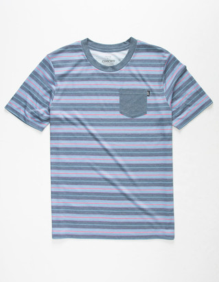 Grom Army Stripe Boys Tee
