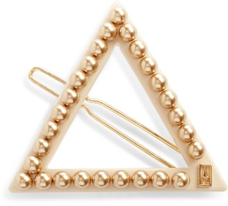 Alexandre de Paris Triangle Side Barrette
