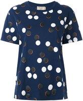 MAISON KITSUNÉ patterned top - women - Cotton - XS