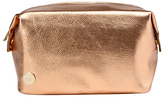 Mi-Pac Gold Metallic Wash Bag, Rose Gold