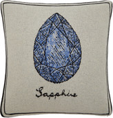 Saved NY Sapphire Cashmere Pillow
