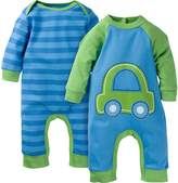 Gerber Baby-Boys Car 2 Pack Coverall, Car