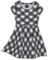 My Michelle mymichelle Lattice Sweater Dress (Big Girls)