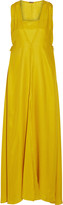 ADAM by Adam Lippes Silk-crepe gown