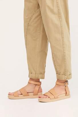 Free People Erin Flatform Sandals by Vagabond Shoemakers at Free People, Tan, EU 38