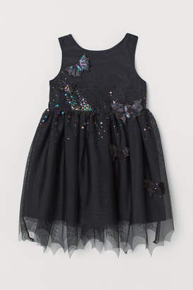 H&M Tulle Dress with Appliques
