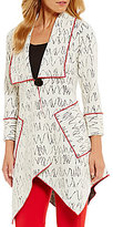 IC Collection Long Scribble Jacket