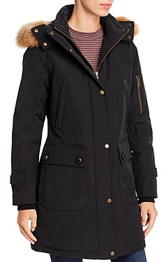 Pendleton Jackson Fur-Trim Down Parka