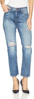 Hudson Women's JESSI Relaxed Cropped Boyfriend 5 Pocket Jean