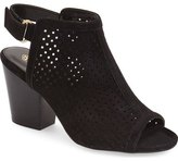 Isola 'Lora' Perforated Open-Toe Bootie Sandal (Women)