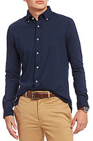 Daniel Cremieux Solid Supima Cotton Long-Sleeve Woven Shirt