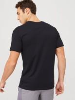 Nike Dry HBR Running T-Shirt - Black