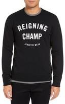 Reigning Champ Men's Gym Logo Crewneck T-Shirt