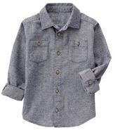 Gymboree Herringbone Shirt