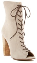 Kristin Cavallari by Chinese Laundry Lawless Block Heel Leather Boot