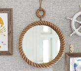 Pottery Barn Kids Nautical Rope Mirror