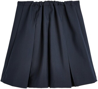 Very Girls 2 Pack Classic Pleated School Skirts Plus - Navy