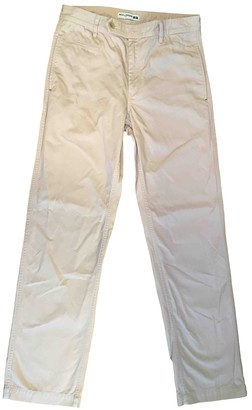 Uniqlo Pink Cotton Jeans for Women