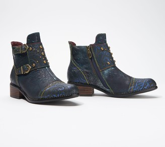 Spring Step L'Artiste by Ankle Boots - Nailhead