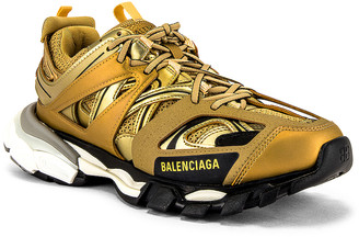 Balenciaga Track Sneaker in Gold | FWRD