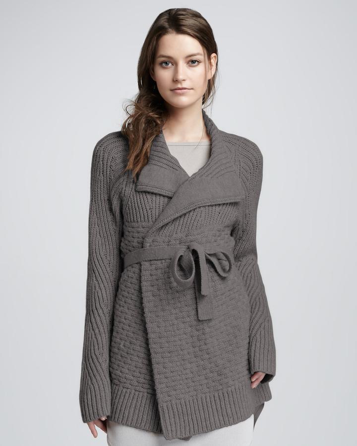 Halston Cardigan Coat