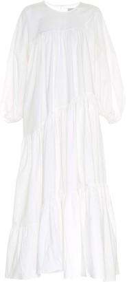 Lee Mathews Elsie cotton-blend midi dress
