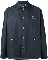 Fred Perry denim shirt jacket - men - Cotton/Polyester - 42