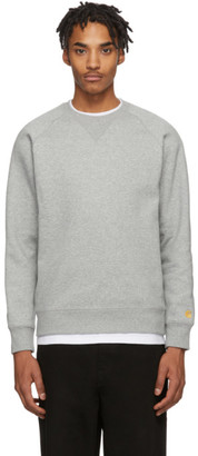 Carhartt Work In Progress Grey Chase Sweatshirt