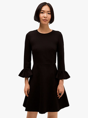 Kate Spade Bell Sleeve Ponte Dress