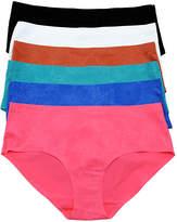 B.ella Teal & Coral Laser-Cut Bikini Set