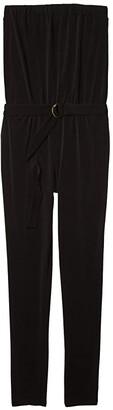 MICHAEL Michael Kors D-Ring Jumpsuit (Black) Women's Jumpsuit & Rompers One Piece