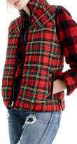J.Crew Women's Tartan Mountain Puffer Vest