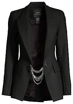 Smythe Women's x Jenny Bird Chain Blazer