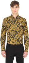 Eton Slim Printed Cotton Button Down Shirt