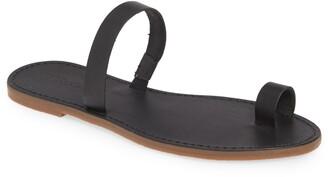 Madewell The Boardwalk Bare Slide Sandal