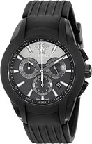 "Versace Men's M8C60D008 S009 ""Character Collection"" Stainless Steel Watch with Rubber Band"