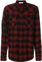Pierre Balmain diamond check shirt