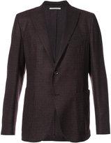 Eleventy scalloped suit jacket - men - Cashmere/Wool - 46