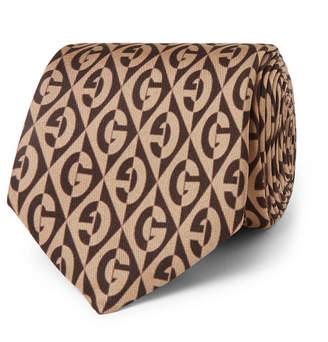 Gucci 7cm Printed Silk-Twill Tie