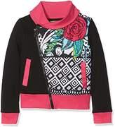 Desigual Girl's Sweat_Andersen Sweatshirt,(Manufacturer size: 13/14)