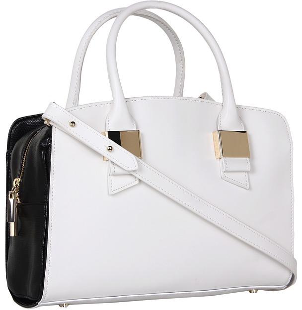 Ivanka Trump Blair Satchel (Black) - Bags and Luggage
