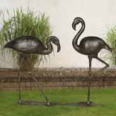Sunjoy Flamingo Garden Statue 2-piece Set
