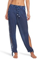 Lucky Brand Women's Nomad Ankle Tie Cover-Up Pants