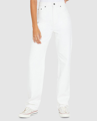 Ksubi Playback Jeans White Rose