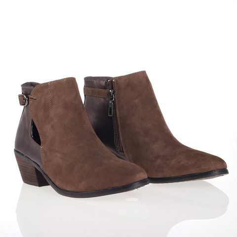 Very Volatile Brevin Bootie Taupe