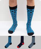 Ted Baker Socks 3 Pack Gift Box