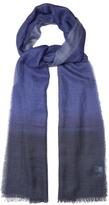 Lanvin Dégradé-print cashmere-blend scarf