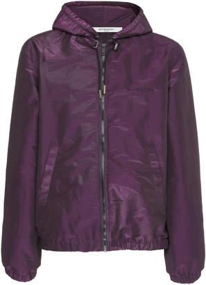 Givenchy Hooded Shell Jacket