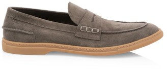To Boot Fort Greene Suede Penny Loafers